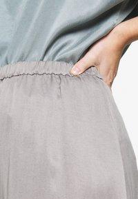 DRYKORN - RAHEL - A-line skirt - silver - 5