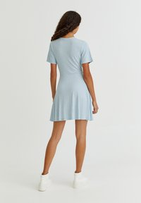 PULL&BEAR - Day dress - light blue - 6