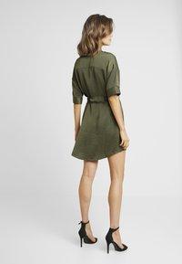 Vero Moda - VMJANE DRESS - Shirt dress - ivy green - 3