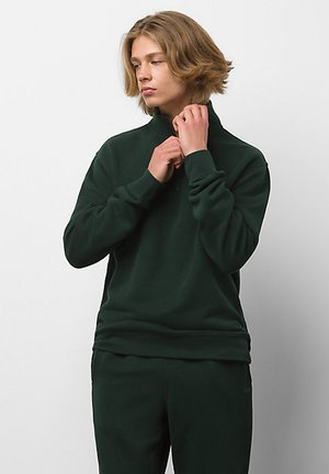 MN COMFYCUSH BOXY Q-ZIP - Sweatshirt - scarab