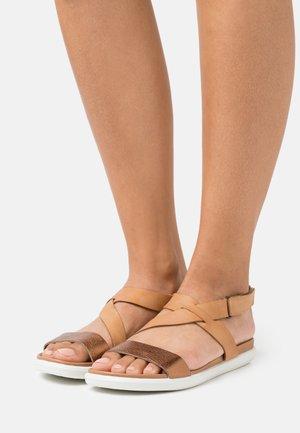 SIMPIL - Sandals - bronze/lion