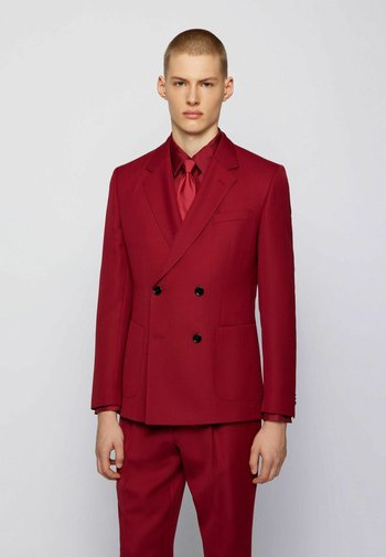 CAYMEN - Kavaj - dark red