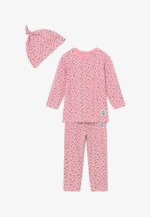 NBFBARLINE SET - Trousers - pink nectar