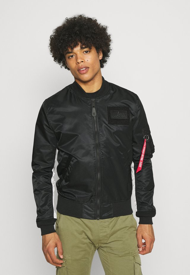 CUSTOM - Bomber Jacket - black