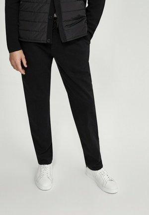 USED-LOOK - Slim fit jeans - black