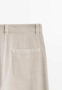 Massimo Dutti - Trousers - beige - 3