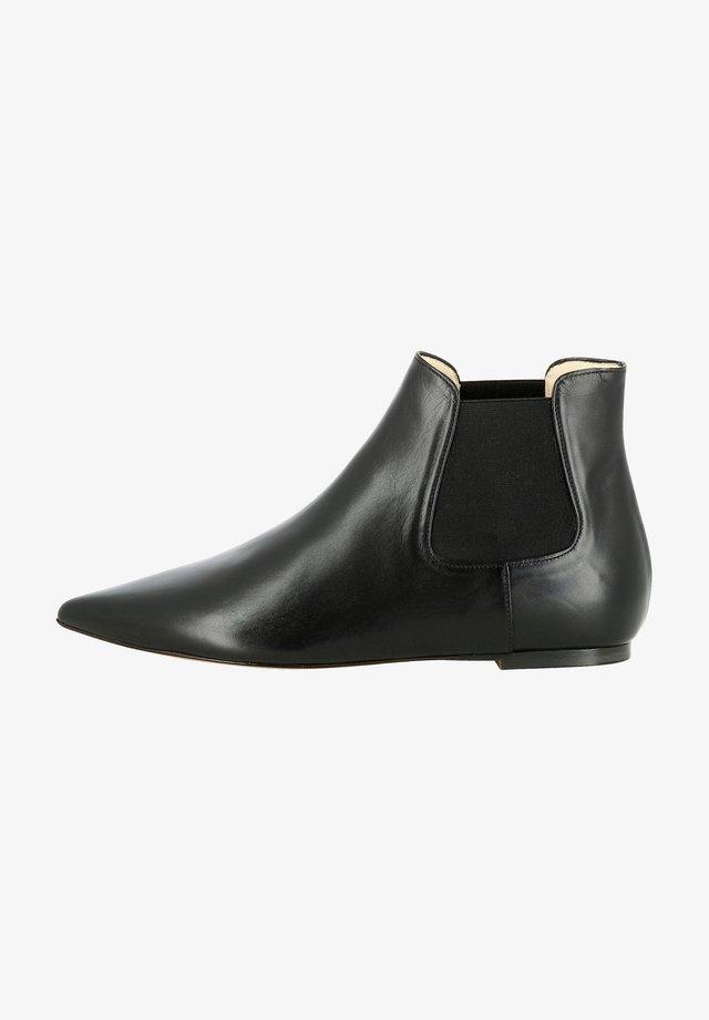 FRANCA - Korte laarzen - schwarz