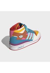 adidas Originals - FORUM MID ORIGINALS SNEAKERS SHOES - Zapatillas altas - pulse aqua/pink tint/sonic fuchsia - 2