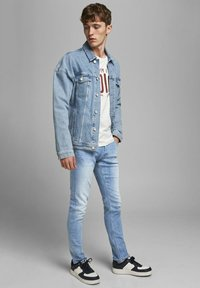 Jack & Jones - SLIM FIT GLENN ORIGINAL - Slim fit jeans - blue denim - 3