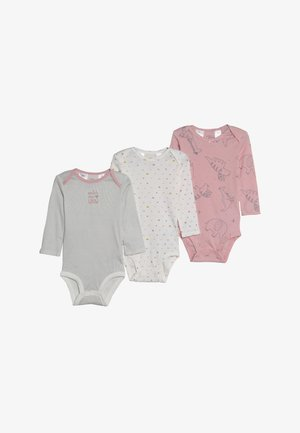 GIRL ANIMAL BABY 3 PACK - Body - multi coloured