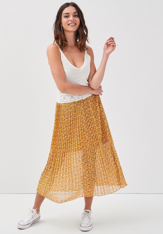 Femme PLISSEE BEDRUCKTER - Jupe plissée