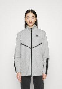 Nike Sportswear - Cardigan - dark grey heather/black - 0