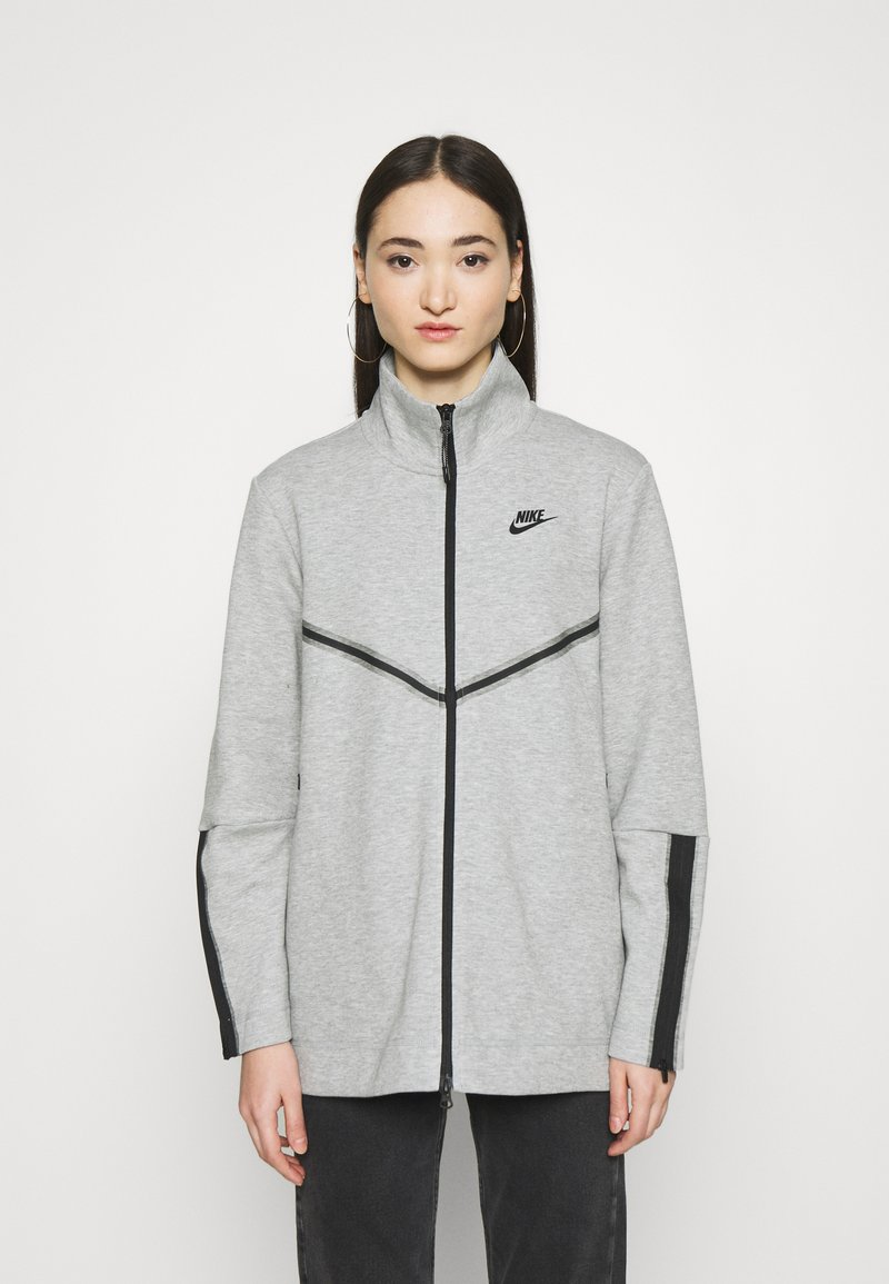 Nike Sportswear - Cardigan - dark grey heather/black