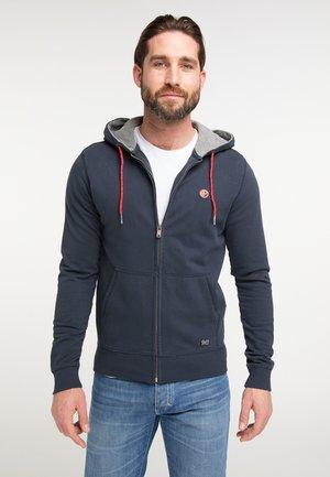 Zip-up sweatshirt - deep navy