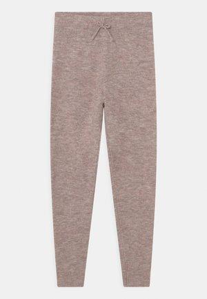 CINDY PANTS - Teplákové kalhoty - beige