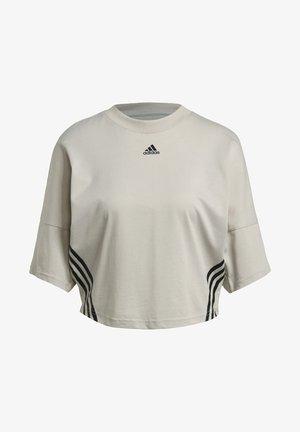 CROPPED W PRIMEBLUE TRAINING T-SHIRT - Print T-shirt - grey