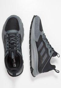 adidas Performance - RESPONSE TRAIL - Løbesko trail - core black/grey six - 1