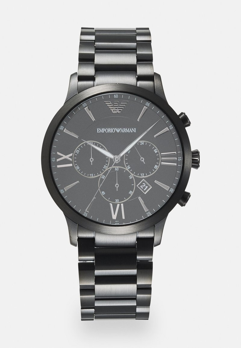 Emporio Armani - Kronograf - black