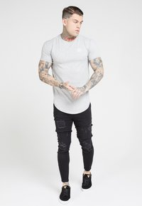 SIKSILK - T-shirt basic - grey marl - 1