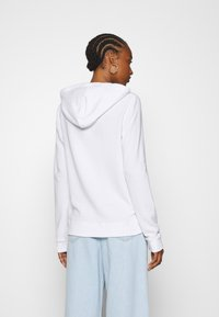 Hollister Co. - TERRY TECH CORE - Zip-up hoodie - white - 2