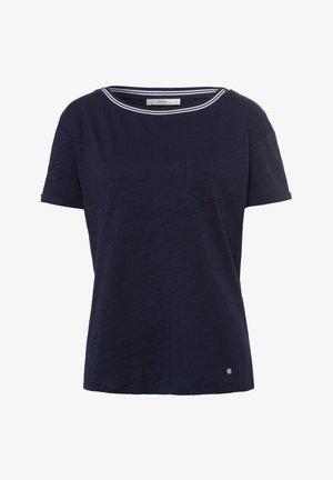 STYLE CAMILLE - Basic T-shirt - navy