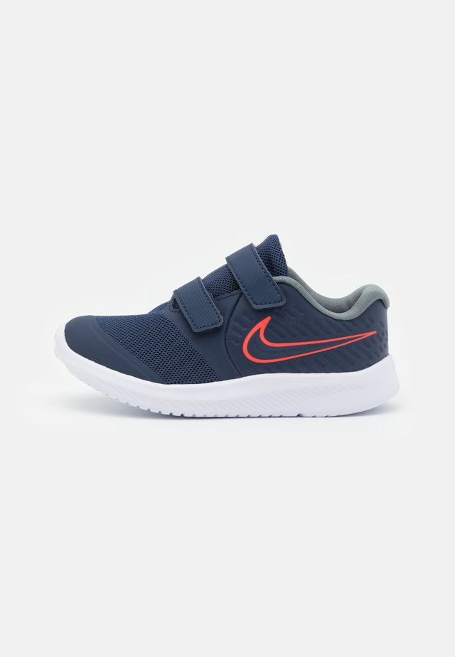 STAR RUNNER 2 UNISEX - Hardloopschoenen neutraal - midnight navy/bright crimson/smoke grey