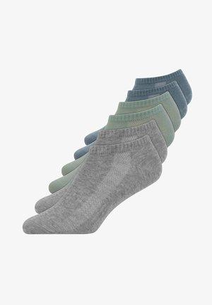 SNEAKER SOCKEN - Socks - grau/blau/grün