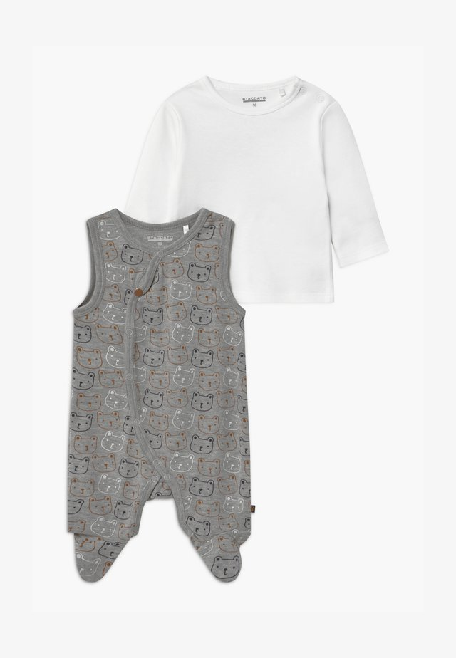 SET - Jumpsuit - mottled grey