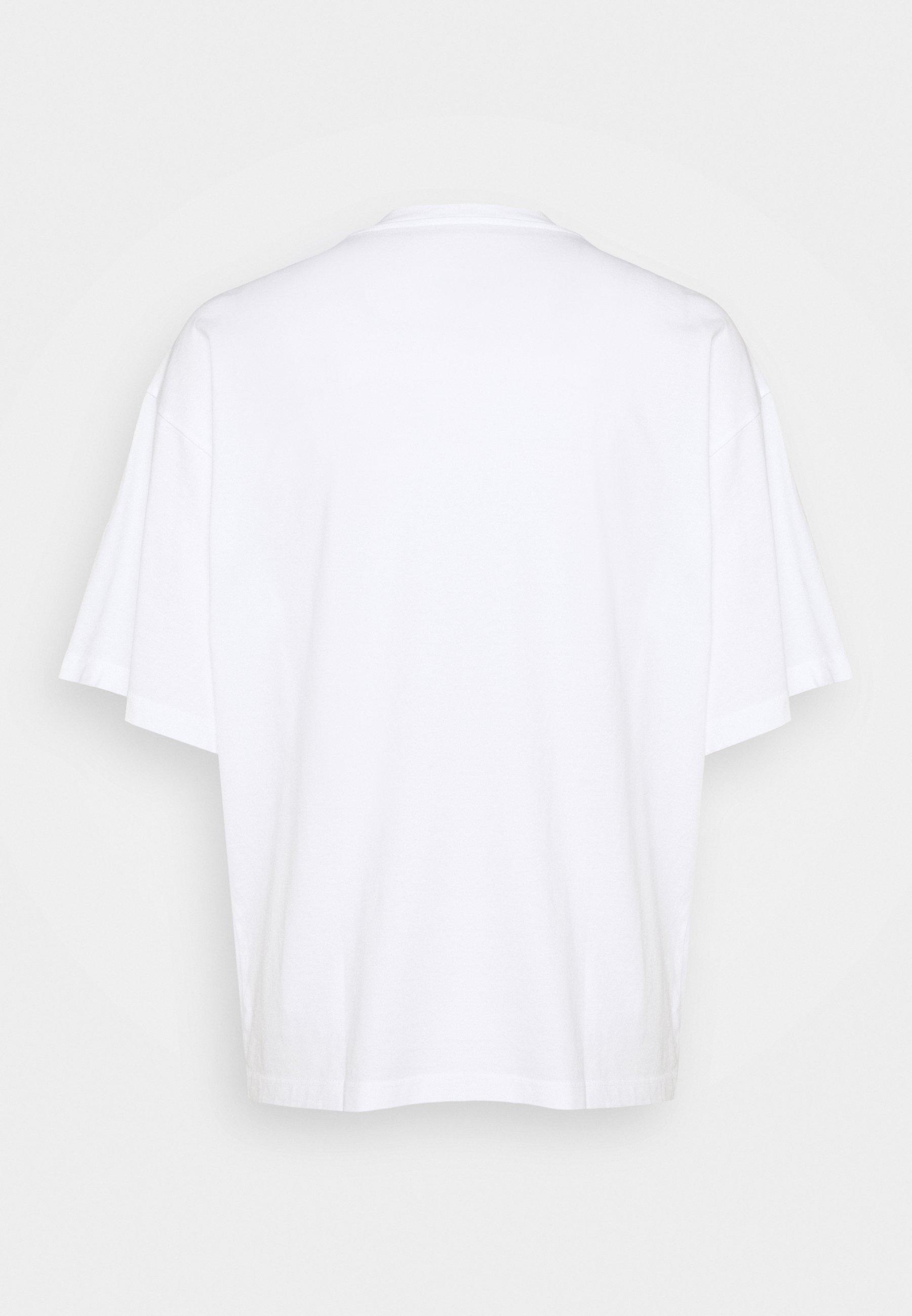 Mm6 Maison Margiela T-shirts Med Print - White/hvit