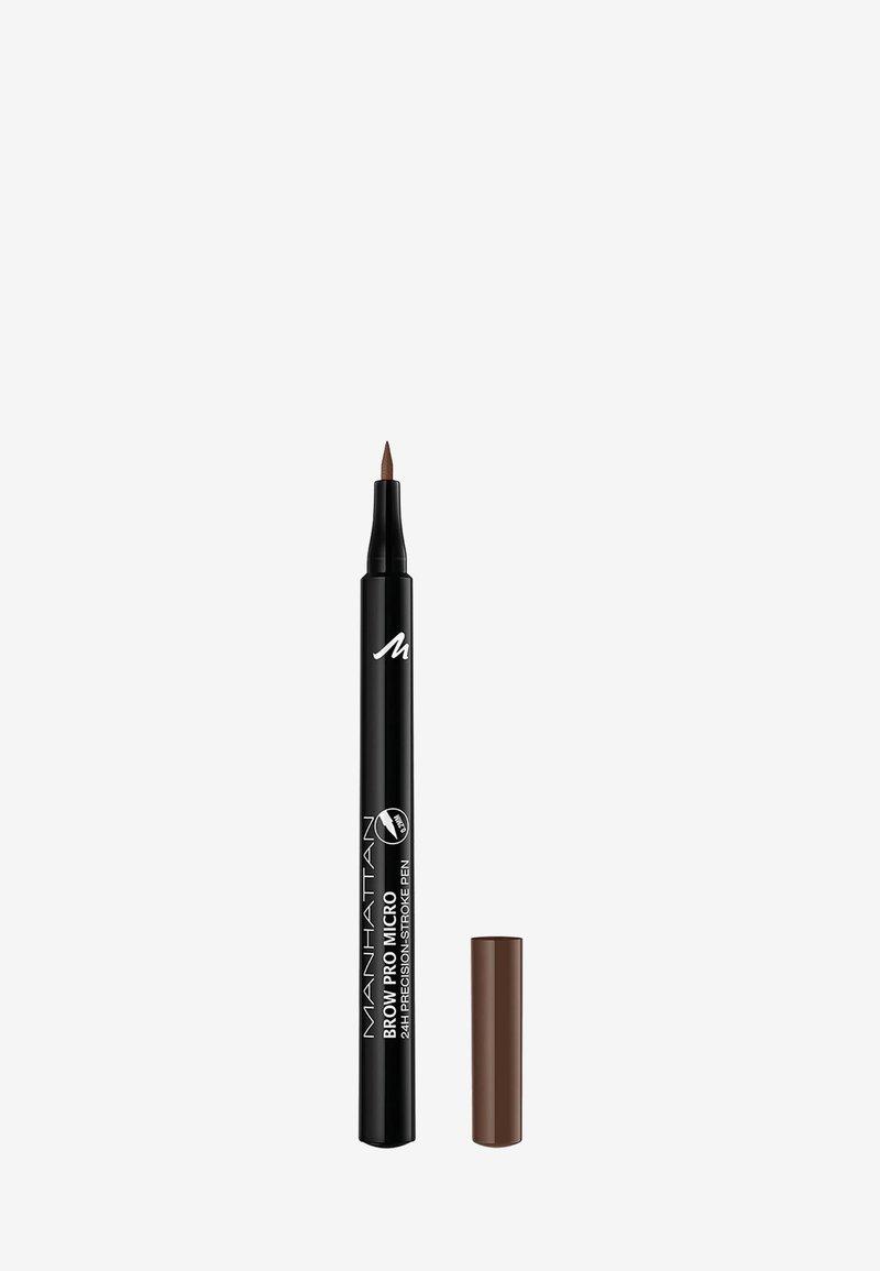 Manhattan Cosmetics - BROW PRO MICRO PEN - Eyebrow pencil - 002 soft brown