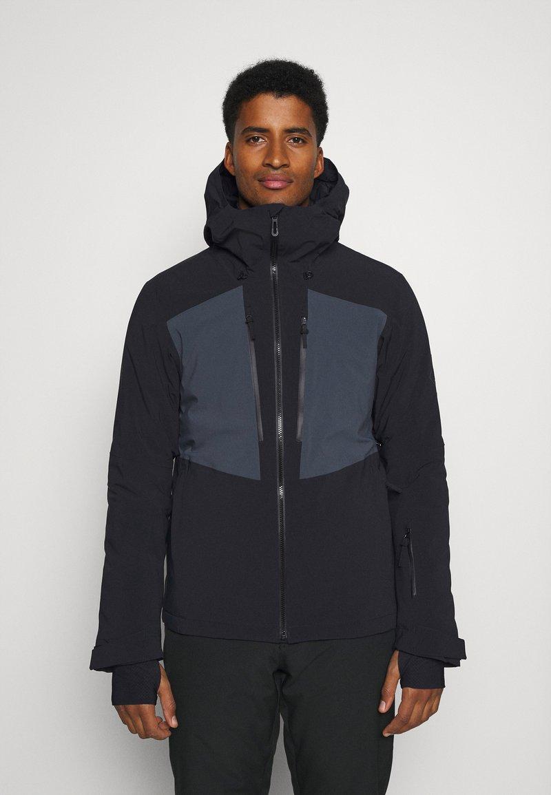 Salomon - HIGHLAND - Veste de ski - black/ebony