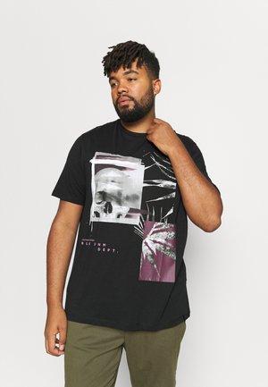 JORREFLECT TEE CREW NECK - T-shirt med print - tap shoe