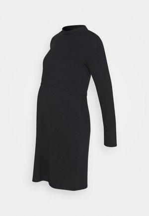 CALA JUNE - Žerzejové šaty - black