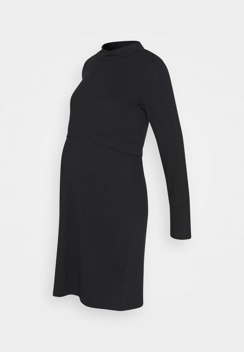 MAMALICIOUS - CALA JUNE - Jersey dress - black