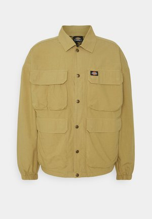 GLYNDON JACKET - Light jacket - dark khaki