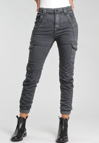 Gang - GISELLE  - Jeans Tapered Fit - black - 0