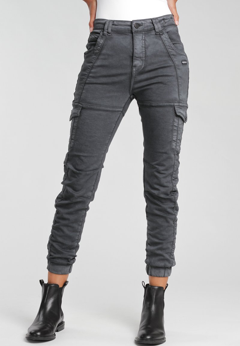 Gang - GISELLE  - Jeans Tapered Fit - black