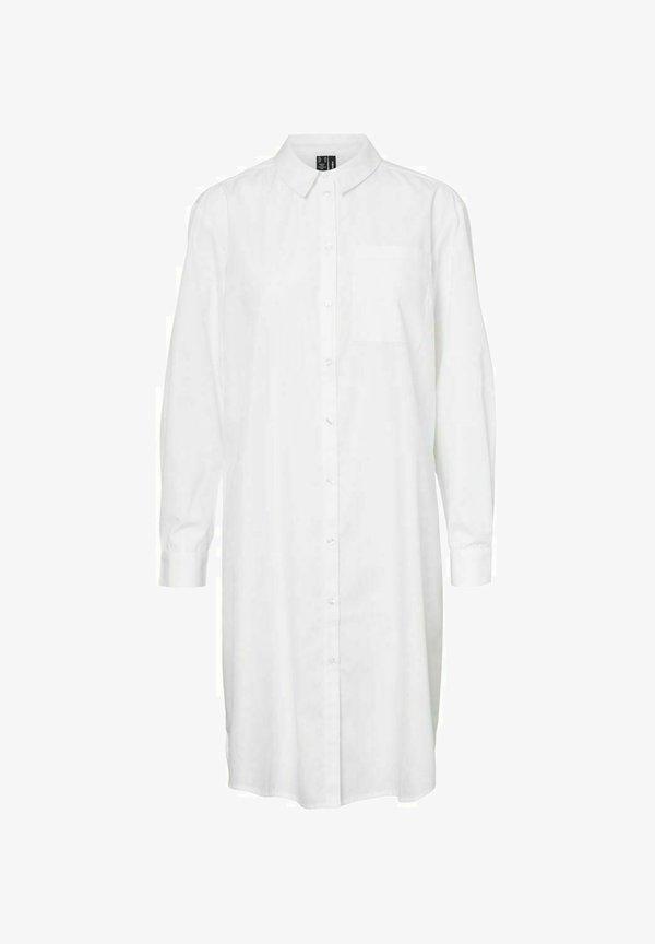 Vero Moda Koszula - snow white/biały BXHD