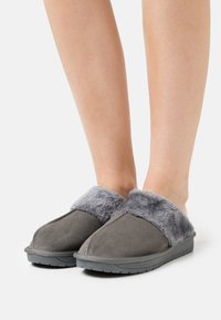 Simply Be - WIDE FIT AUBREE - Slippers - grey - 0