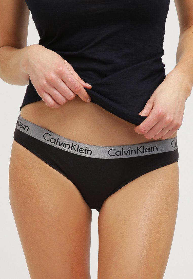 Calvin Klein Underwear - RADIANT COTTON  - Briefs - black