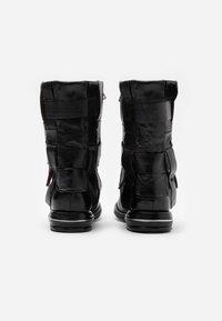 A.S.98 - Cowboy/Biker boots - nero - 3
