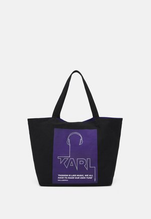 VOICES MUSIC SHOPPER - Shopping Bag - purple