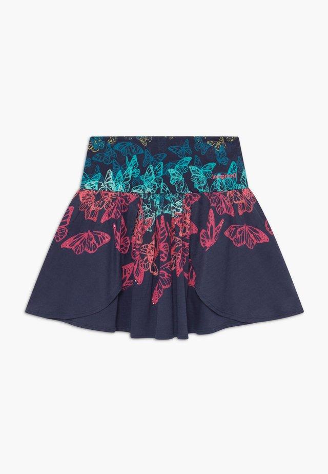 HONOLULU - A-line skirt - navy