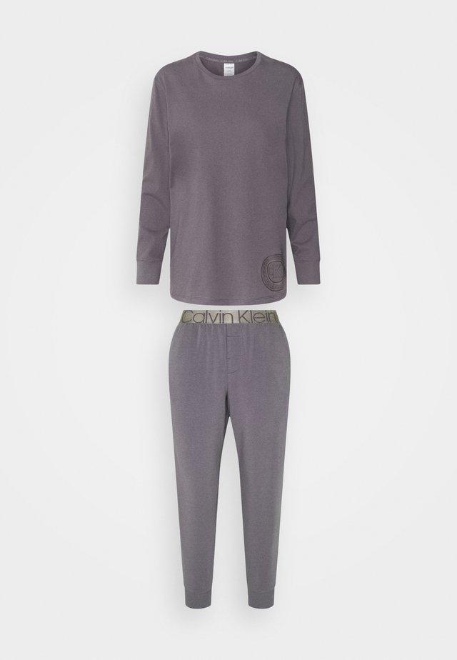 ICONIC LOUNGE SET - Piżama - purple haze