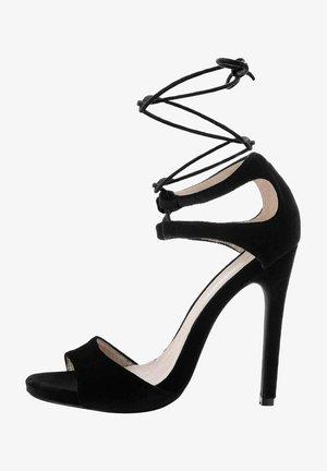 KAGGI - Sandales à talons hauts - black