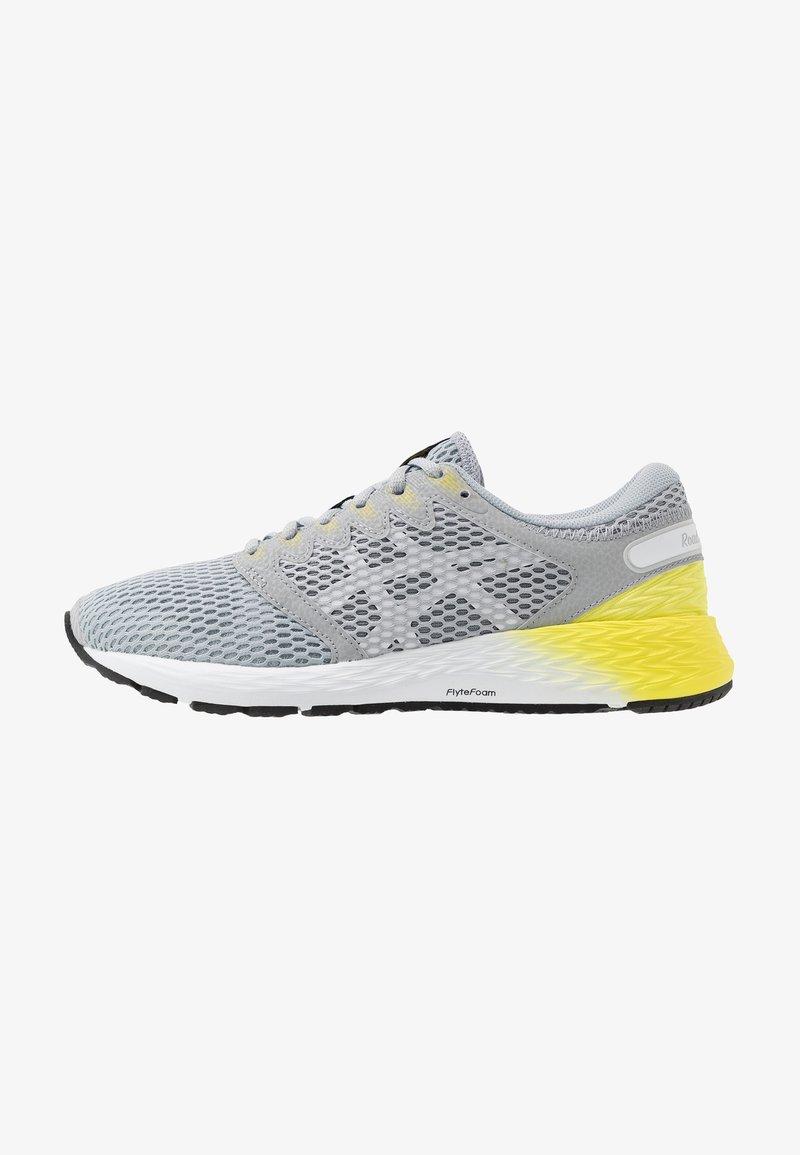 ASICS - ROADHAWK FF 2 - Obuwie do biegania treningowe - mid grey/white