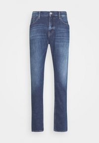 RYAN RELAXED STRAIGHT - Straight leg jeans - hanks dark blue comfort
