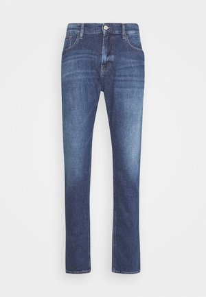 RYAN RELAXED STRAIGHT - Straight leg jeans - hanks dark blue comfort