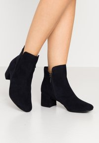 Tamaris - WOMS - Ankle boots - navy - 0