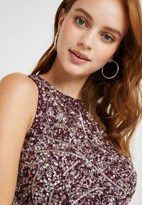 Lace & Beads Petite - PICASSO LEAF MAXI - Iltapuku - burgundy - 4